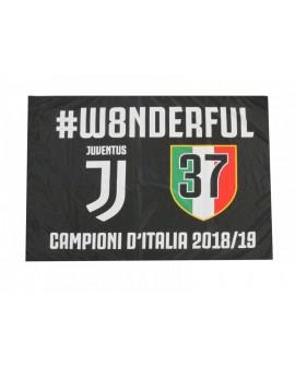 Bandiera Juventus Celebrativa 100X140 - JUVBANC19.S