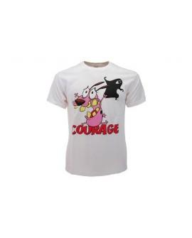 T-Shirt Leone Cane Fifone Courage - LEOCU.BI