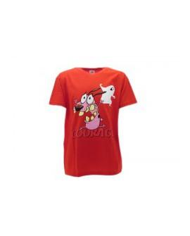 T-Shirt Leone Cane Fifone Courage - LEOCU.RO