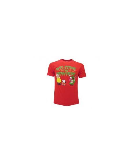 T-Shirt Leone Cane Fifone Welcome.. - LEOWE.RO