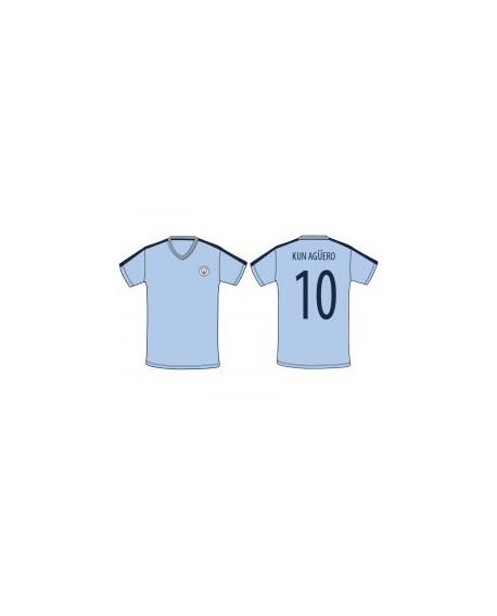 Maglia Calcio Ufficiale Manchester City F.C. SR057 - MCKAG19