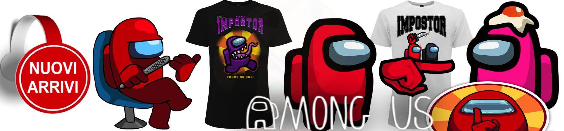 vendita online t-shirt Among us